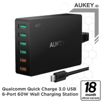 Aukey PA-T11 Desktop Charging Station with Quick Charge 3.0
