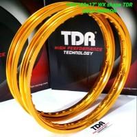 VELG TDR 1 SET 140/160-17 GOLD MIRROR WX SHAPE