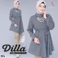 Baju Atasan Wanita Muslim Blouse Dilla tunik Shofiya