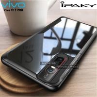 Case Vivo V15 Pro iPAKY Armor Bumper Transparent Clear Original - Hita