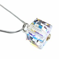 Perhiasan Liontin Kalung Swarovski - Cubix Pendant Small by AR Hestia