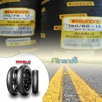 PAKET BAN PIRELLI DIABLO ROSSO SPORT 110/70 & 150/60 RING 17