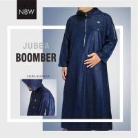 Baju Gamis Jubah Muslim Pria Ikhwan Hoodie Keren by Nabawi NBW M L XL