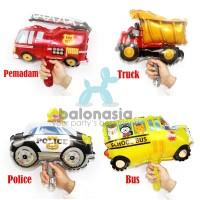 Balon Foil Karakter Mobil Mini