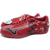 Hari Ini Sepatu Futsal Mizuno Ryuou In (Chinese Red/Black/White)
