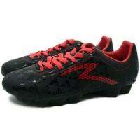 Mantap Sepatu Bola Specs Quark Fg (Black/Emperor Red) Terbatas