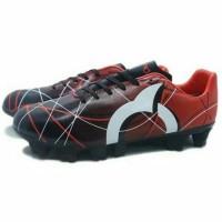 Produk Unggulan Sepatu Bola Ortuseight Ventura Fg Red Black White Hot