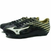 Wow Sepatu Bola Mizuno Basara 104 Md Black White Gold Diskon