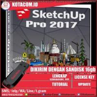Flashdisk Sketchup vray dan Autodesk Autocad 2017 2016 Lengkap