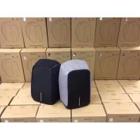 Bobby XL ORIGINAL Backpack 100% ORIGINAL XD DESIGN ANTI THEFT BACKPACK - Hitam