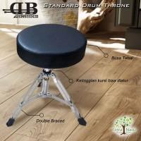 Bangku Drum DB Percussion Standard Kursi Throne Model Bulat