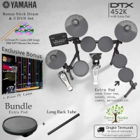 Drum Elektrik Yamaha DTX452K with XtraPad/ DTX452 / DTX 452 / 452K