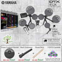 Drum Elektrik Yamaha DTX452K with XtraCymbal/ DTX452 / DTX 452 / 452K