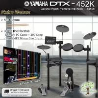 Drum Elektrik Yamaha DTX452 / DTX452K / DTX 452 / 452K penerus 450k