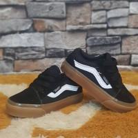Sepatu Vans Old School Black Gum Kids