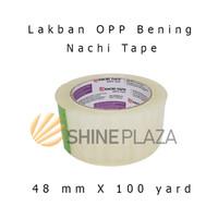 Lakban Bening - Coklat OPP Nachi Tape