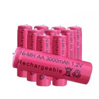 Rechargeable Battery AA No.5 Baterai Cas Isi Ulang Ni-MH 1.2V Reusable