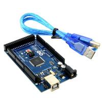 Arduino Mega 2560 R3 16u2 Grade Clone White Logo + USB Cable