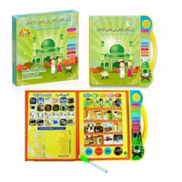 Mainan Edukasi Muslim E-Book Tablet Play 3in1 Indonesia English Arab
