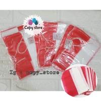 Banner / Bendera Plastik Merah Putih HUT RI + TALI / DIRGAHAYU RI