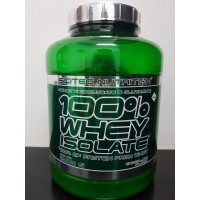 Scitec Nutrition Whey Isolate 100% 2000 grams 4,4 lbs 2000 g gr gram
