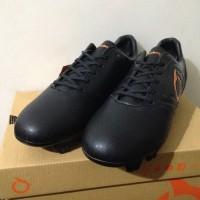 PROMO Sepatu Bola OrtusEight Genesis FG Black Ortrange 11010046 Origi