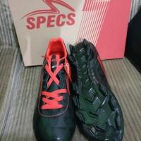 PROMO Sepatu Bola Specs Quark FG Black Emperor Red Original TERLARIS