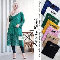 Baju Atasan Wanita Muslim Blouse Azzura Tunik