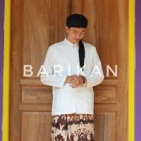 Baju Muslim Pria Putih Polos Panjang - Baju Koko - Baju Taqwa