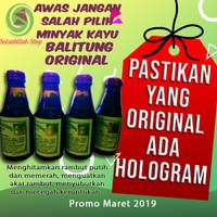 100% ORI! Minyak Kayu Balitung Penghitam Rambut / Belitung !00% Herbal