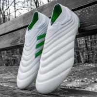 Sepatu Bola Adidas Copa 19+ GF White Solar Original Premium