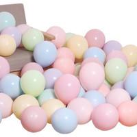 Balon Latex Pastel / Balon Macaron Mix isi 100 pcs