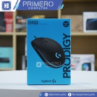 Logitech G G102 Prodigy RGB Gaming Mouse Black