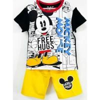 1-6T Setelan baju kaos anak Karakter Laki laki Mickey Mouse