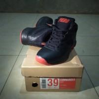 Sepatu basket sneaker Piero Commander Hitam