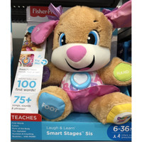 Fisher-Price Smart Stages Laugh and Learn Musical Puppy Original