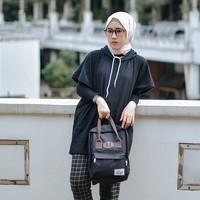 Tas Ransel Mini Backpack Laptop Wanita Casual - ATVA Kubo Black