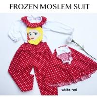 FROZEN MOSLEM JUMPSUIT gamis anak baju muslim anak
