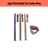 NEW! Apple Watch Hermes Double Tour Strap Genuine Leather Series 1,2,3