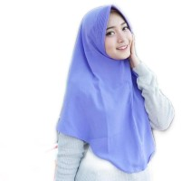 PROMO!!!!hijab / jilbab / khimar simpel pet antem - hijau mint
