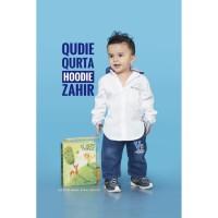 qudie baju koko hoodie anti basah zahir kids n baby- - 1th-2th