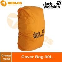 Rain Cover bag 30 Liter JWS Jack Wolfskin tas ransel Daypack Orange