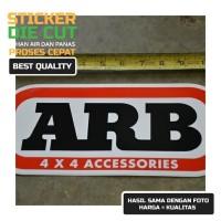 Sticker ARB Bamper Depan Belakang Car Sticker 4x4 Off-Road Aksesoris