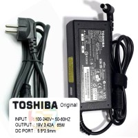 TOSHIBA Ori Adaptor Charger Laptop C600 C800 C640 L745 L800 L510 M200