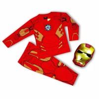 kostum baju anak iron man end game