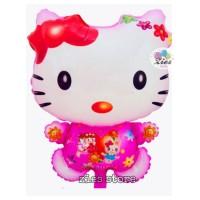 Balon foil plastik hello kitty / balon hello kitty plastik