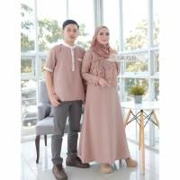 Baju couple seragam Pasangan Keluarga Muslim-MENTARI COUPLE TERBARU!!