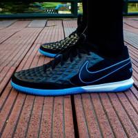 Sepatu Futsal Nike Legend 8 Academy IC Black/Blue AT6099-004 Original