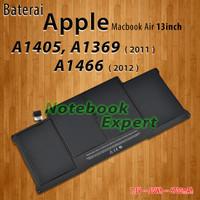 Original Baterai Apple Macbook Air A1405 A1369 2011 and A1466 2012