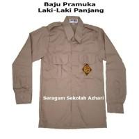 BAJU SERAGAM PRAMUKA SD/SMP LENGAN PANJANG NO (6 s/d 16) - No 6 7 8, PERAMUKA